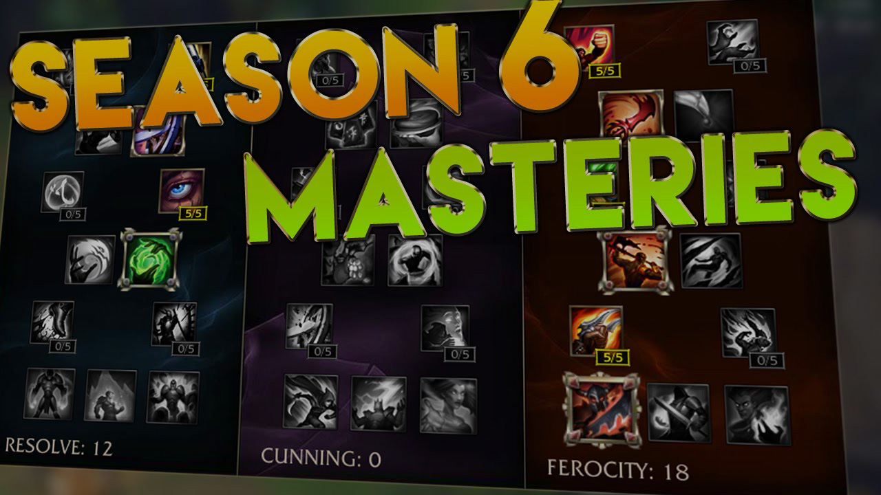 Guide to LoL masteries