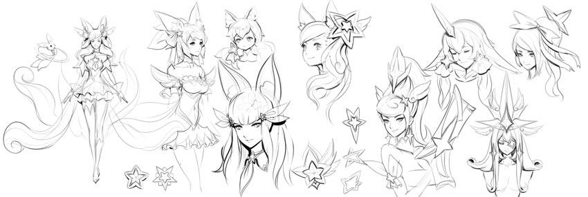star guardian emblem concepts